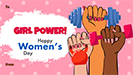 Women's day ecard 1